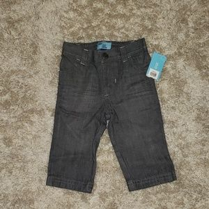 Old Navy 6-12 dark gray skinny jeans